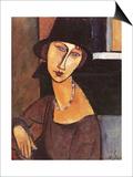 Jeanne Hebuterne Wearing a Hat  1917