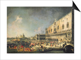 The Reception of the French Ambassador in Venice  circa 1740s