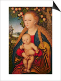 The Virgin and Child under an Apple Tree  1520-26