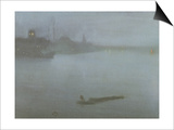 Thames - Nocturne in Blue and Silver  c1872/8