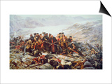 The Last Stand of the 44th Regiment at Gundamuck during the Retreat from Kabul  1841  1898