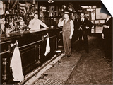 Steve Brodie in His Bar  the New York City Tavern