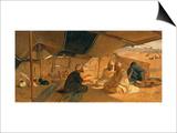 Arabs in the Desert  1871