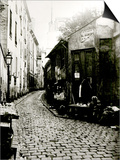 Rue du Jardinet and the Cul-De-Sac of Rohan  Paris  1858-78