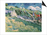 Cottages at Auvers-Sur-Oise  c1890