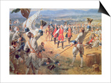 The Victory of Montcalms Troops at Carillon  1758