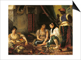 The Women of Algiers in Their Apartment  1834