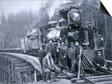 Railroad Construction Crew  1886