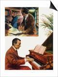 Portrait of Sergei Rachmaninov