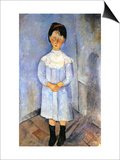 Girl in Blue  1918