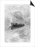 "The Albatross  Illustration from ""Robur Le Conquerant"" by Jules Verne Paris  Hetzel  1886"