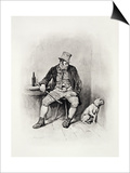 "Bill Sikes and His Dog  from ""Charles Dickens: a Gossip About His Life"""