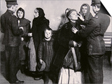 Newly Arrived Immigrants Undergoing Medical Examination on Ellis Island  New York  c1910