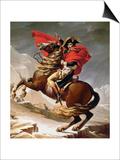 Napoleon Crossing the Alps  circa 1800