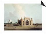 "The Taj Mahal at Agra  from ""Oriental Scenery: Twenty Four Views in Hindoostan""  1796"