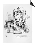 The Mad Hatter  Illustration from Alice's Adventures in Wonderland  by Lewis Carroll  1865
