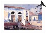 House in Santiago  Cuba  c1885