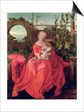 """Virgin and Child """"Madonna with the Iris """" 1508"""
