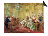 The Presentation of the Young Mozart to Mme De Pompadour at Versailles in 1763