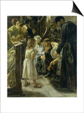 The Twelve-Year-Old Jesus in the Temple  1879