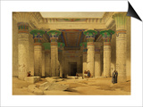 "Grand Portico of the Temple of Philae  Nubia  from ""Egypt and Nubia "" Vol1"