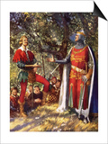 Robin Hood and Richard the Lionheart