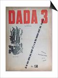 Revue Dada No3  December 1918 (Colour Litho)