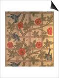 """Trellis"" Wallpaper Design  1864"