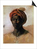 Portrait of a Turk in a Turban  circa 1826