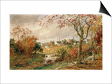 Autumn Landscape  Saugerties  1886