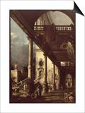 Capriccio with Colonnade  circa 1765