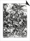 The Four Horsemen of the Apocalypse  1498 (Woodcut)