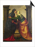 The Visitation of St Elizabeth to the Virgin Mary
