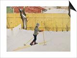 The Skier  circa 1909