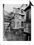 Rue Vieille-Du-Temple  Paris  1858-78