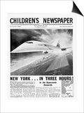 Concorde  Front Page of 'The Children's Newspaper'  November 1963