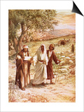 Jesus Appearing to Two Disciples on the Road to Emmaus