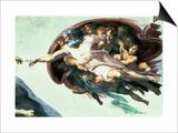 Sistine Chapel Ceiling: Creation of Adam  1510