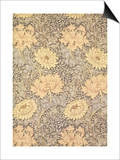 """Chrysanthemum"" Wallpaper Design  1876"