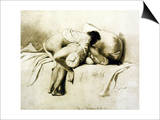 Man and Woman Making Love  Plate 2 of Liebe