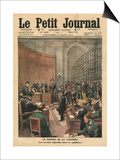 Trial of the Camorra  Illustration from 'Le Petit Journal'  Supplement Illustre  26th March 1911