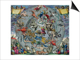Map of Constellations  Northern Hemisphere  The Celestial Atlas  or the Harmony of the Universe