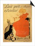 Pure Sterilized Milk from La Vingeanne'  1894 (Colour Litho)