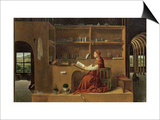 St Jerome in His Study  c1475