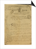 Instructions to Soldiers Issued by Napoleon as General of the Italian Army  20th May 1796