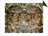 Sistine Chapel: the Last Judgement  1538-41