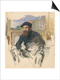 Self Portrait in His Atelier  c1884