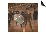 Dancing at the Moulin Rouge: La Goulue and Valentin Le Desosse 1895
