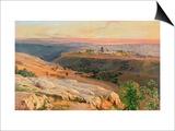 Jerusalem from the Mount of Olives  1859