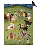 A Game of Polo  from the Large Clive Album